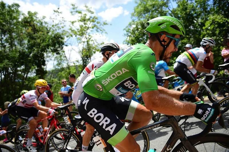 PETER SAGAN (Bora) ya sabe lo que es ganar una etapa en Albi. Lo consiguió en 2013