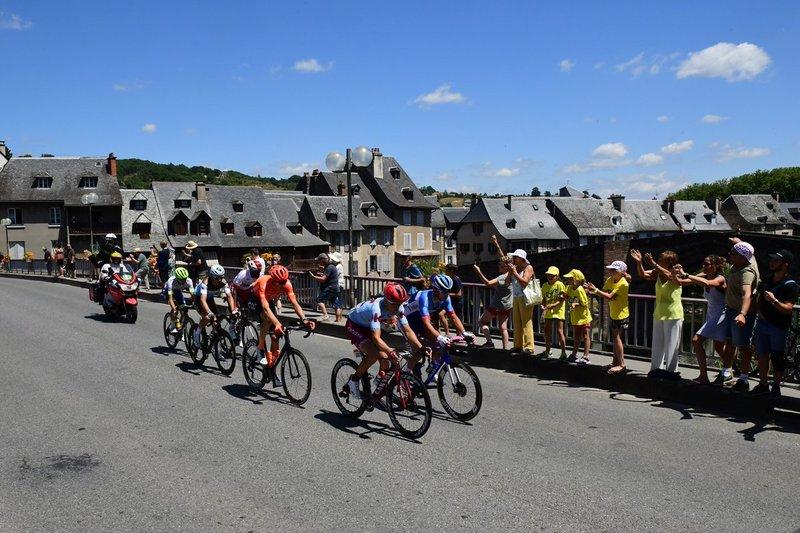 ESCAPADA con pocas opciones hoy en el Tour de Francia