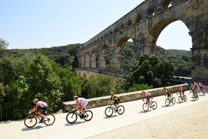 Pont du Gard, un punto emblemático de esta 16ª etapa del Tour de Francia 2019