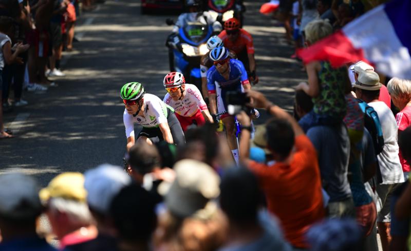 La escapada del día en el Tour de Francia
