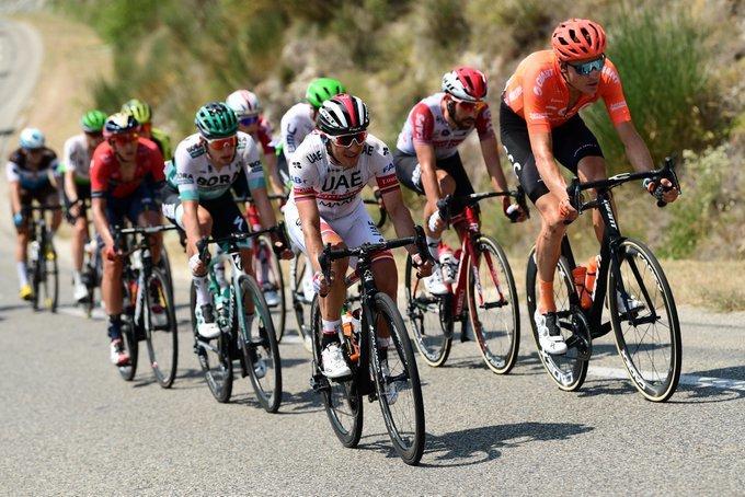 SERGIO LUIS HENAO (UAE), uno de los protagonistas en la fuga de hoy en el Tour de Francia