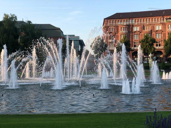 E questa la piazza centrale di Mannheim!