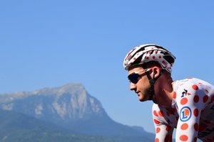 Tim Wellens (Lotto Soudal) debe formar parte de la fuga si hoy quiere conservar el maillot de lunares rojos