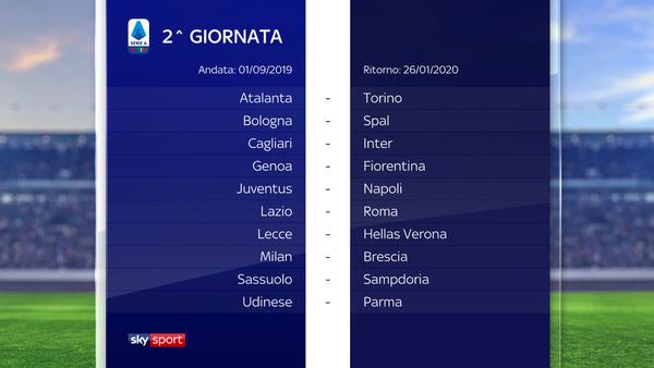 Serie A Svelato Il Calendario Juve A Parma Subito Fiorentina Napoli Sky Sport