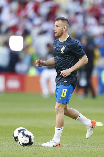 Arthur, el encargado de llevar la manija de Brasil