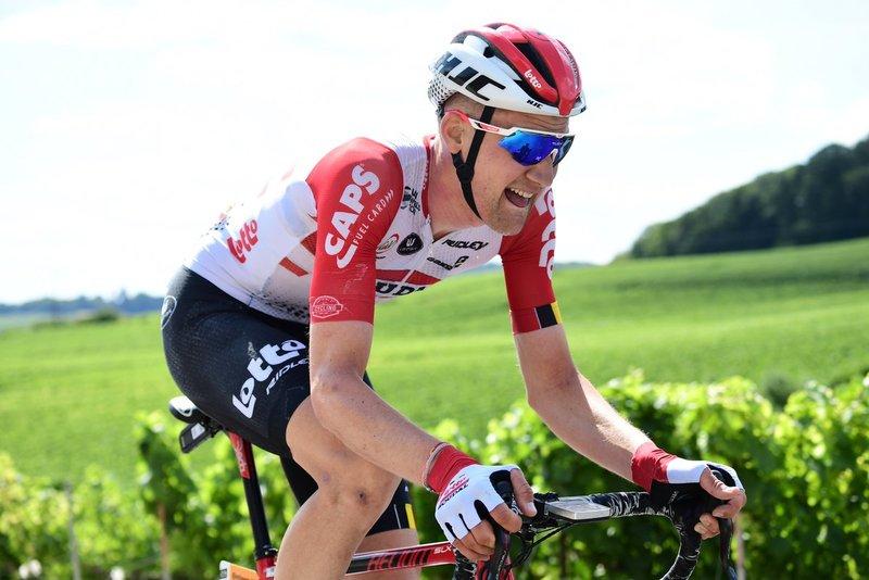 TIM WELLENS (Lotto Soudal) llevará mañana el maillot de lunares rojos del Tour de Francia 2019