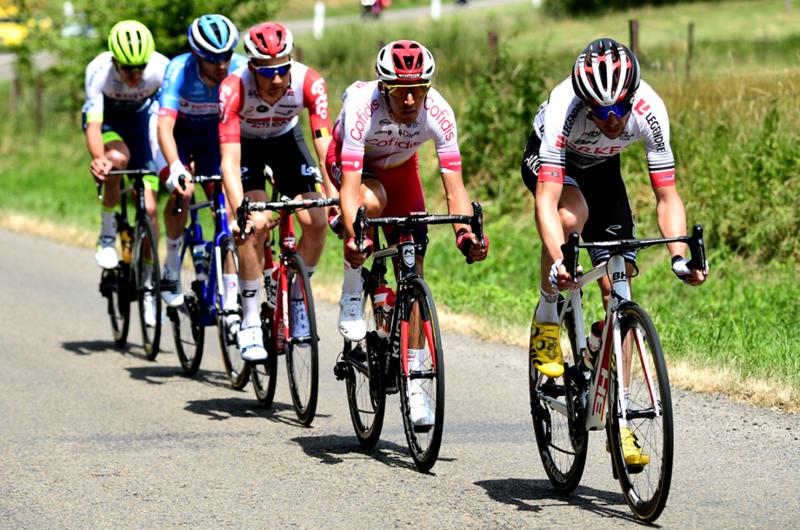 Délaplace, Rossetto, Wellens, Ourselin y Offredo, escapados en el Tour de Francia