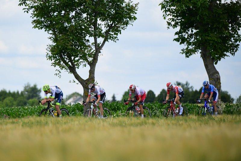 Los cinco escapados de la jornada en esta 3ª etapa del Tour de Francia 2019