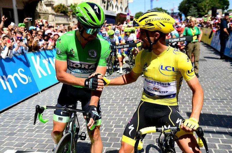 Sagan y Alaphilippe, dos de las grandes estrellas del ciclismo mundial protagonistas en el Tour 2019