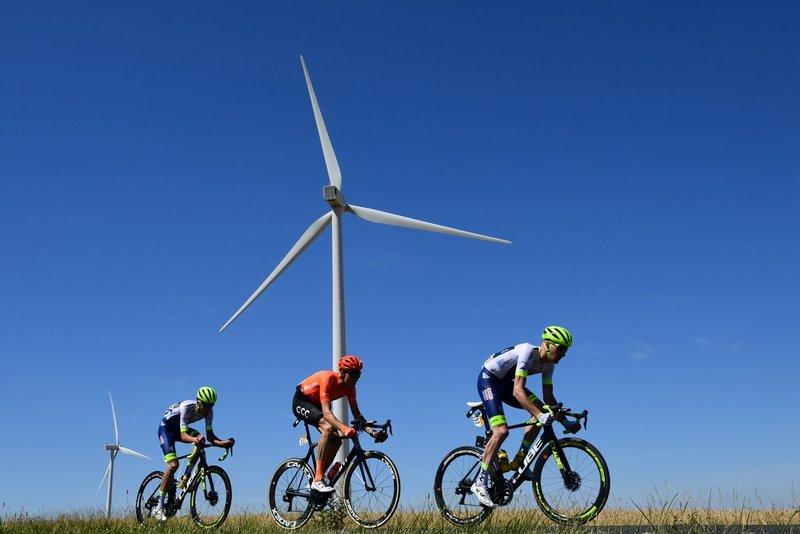 Offredo, Schär y Backaert, protagonistas de la escapada del día en el Tour de Francia