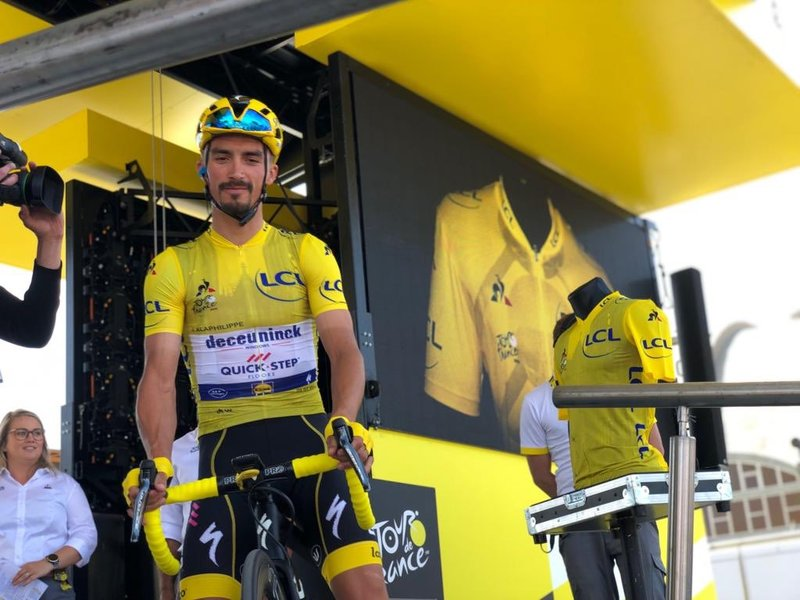 Alaphilippe, nuevo líder del Tour 2019
