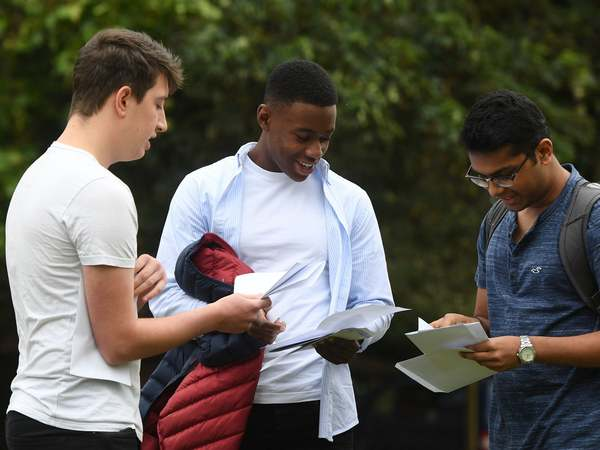 A level results day and university clearing - live: Number