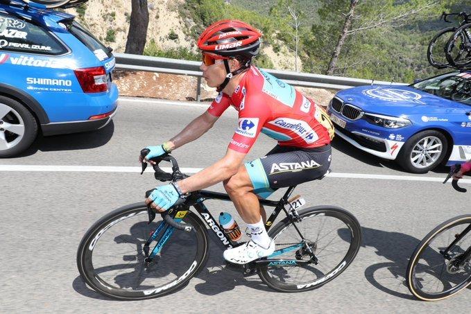 MIGUEL ÁNGEL LÓPEZ (Astana) debuta hoy como líder de una gran vuelta ciclista