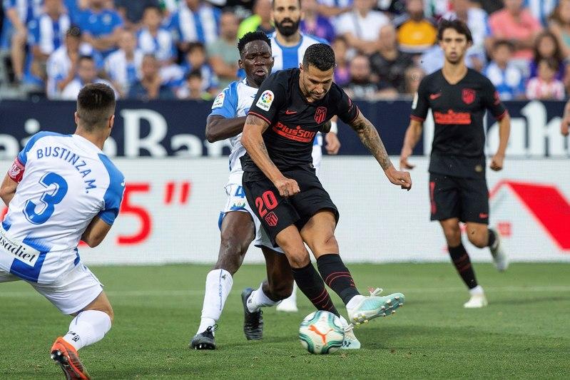 De esta forma marcó Vitolo el gol del Atlético