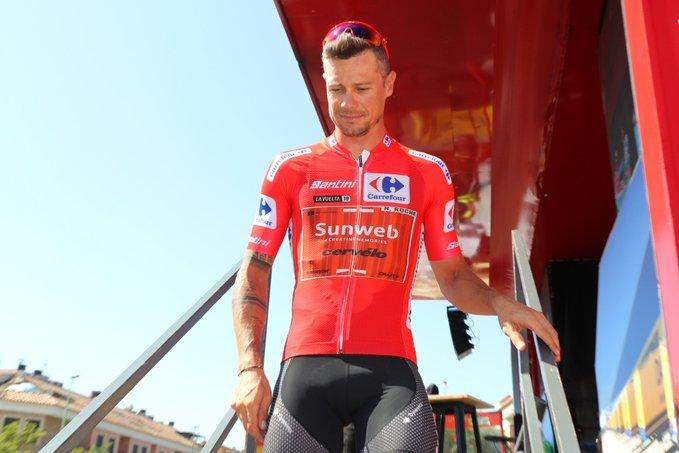 NICOLAS ROCHE (Sunweb) defenderá el maillot rojo en la dura ascensión al Javalambre