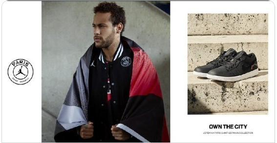 Neymar, imagen de una nueva campaña publicitaria para el PSG