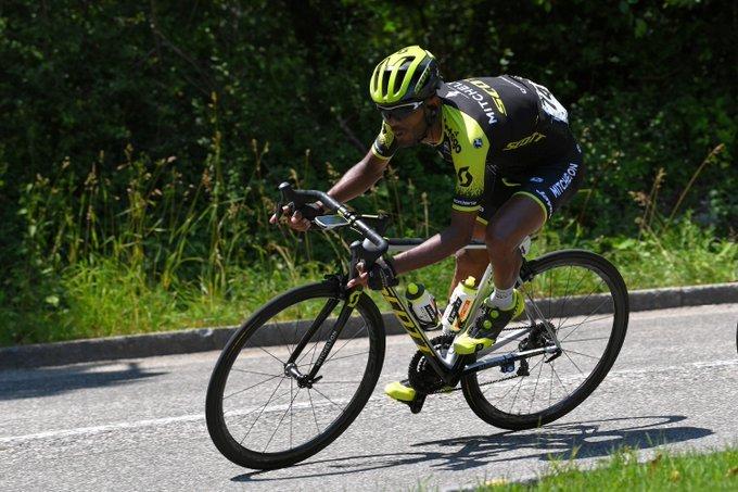 TSGABU GRMAY (Mitchelton Scott), el etíope que quiere ganar hoy en la Vuelta a España