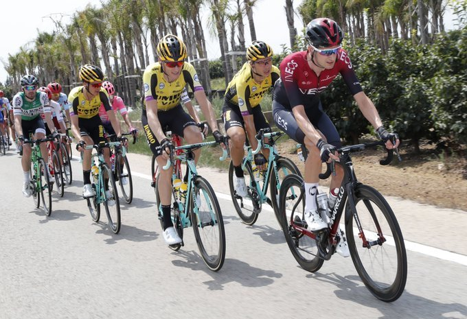 WOUT POELS (Ineos) lo ha intentado con mucha insistencia en esta 6ª etapa de la Vuelta a España 2019