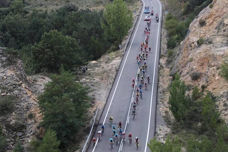 El pelotón de la Vuelta 2019, ante un día muy movido