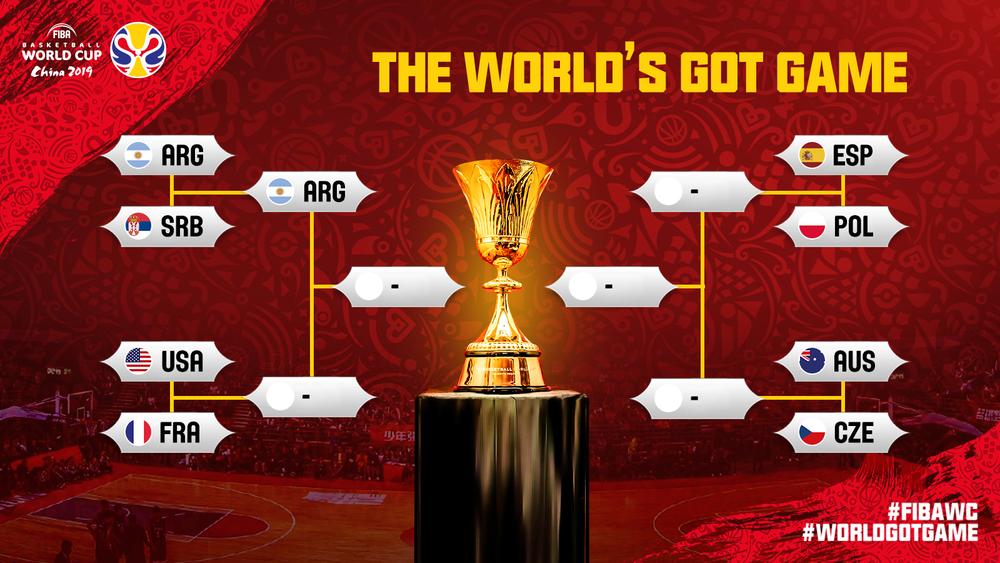 Argentina jadi Negara Pertama yang Tembus Semifinal Piala Dunia FIBA 2019