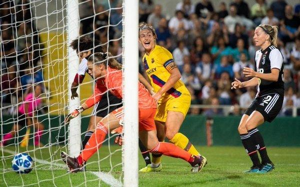 Así ha sido el gol de Alexia Putellas FOTO: FCB