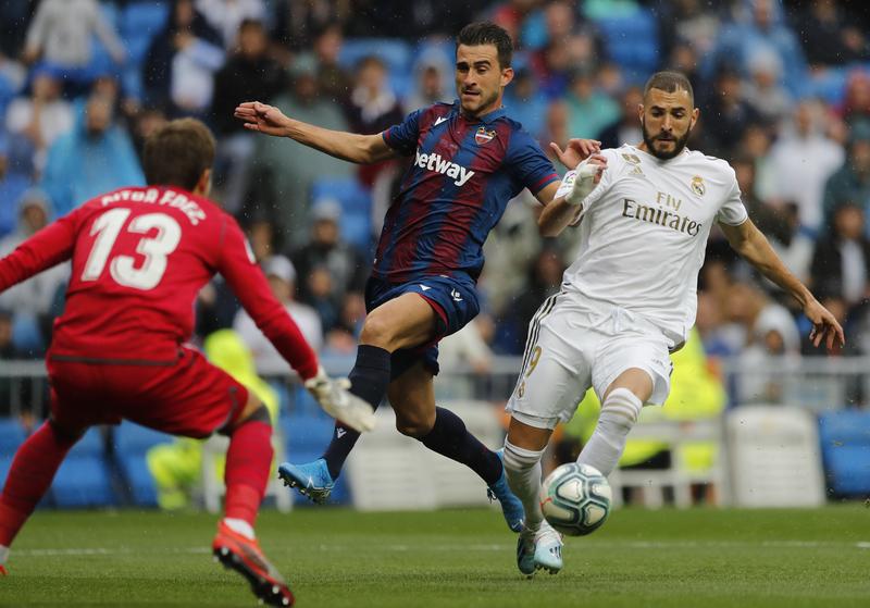 Imagen del Real Madrid-Levante