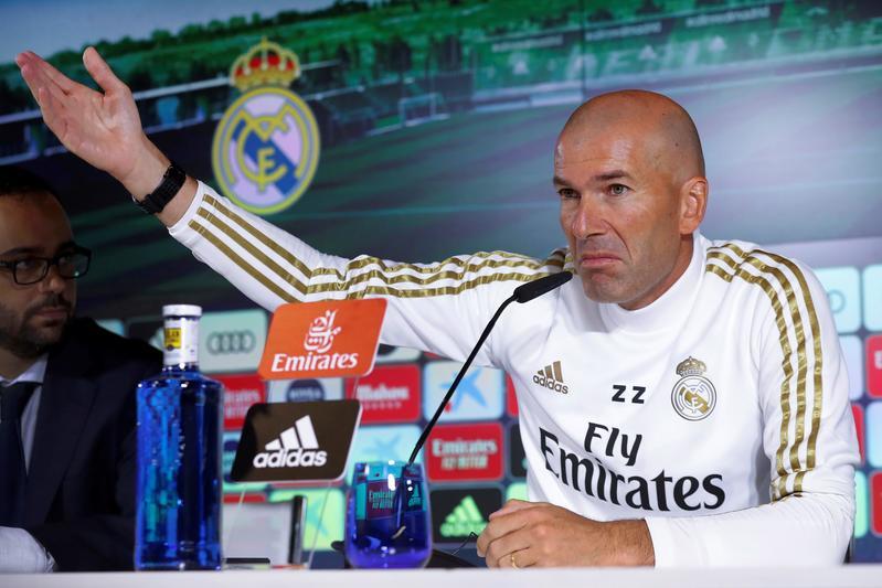 Zidane en la rueda de prensa previa al duelo frente al Levante
