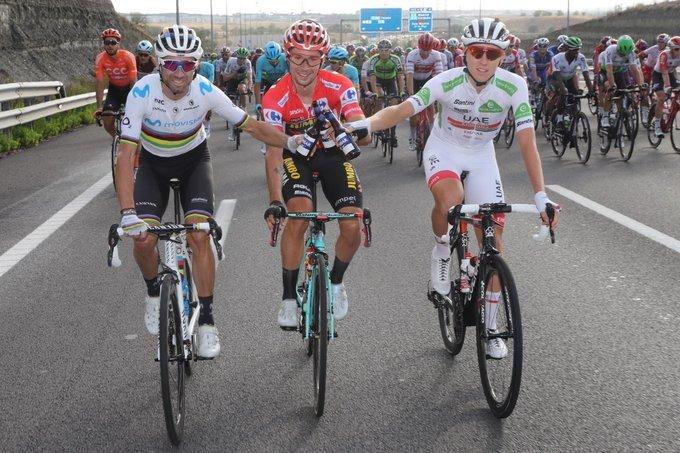 PODIO Final de la Vuelta a España