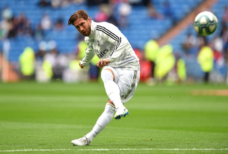 Ramos, sancionado, no estará hoy en París