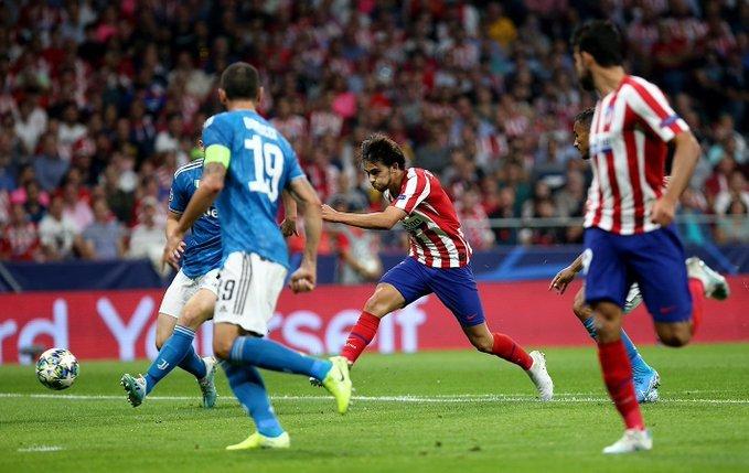 La ocasión en la que Joao Félix estuvo cerca de marcar, la pegó con la puntera abajo. (FOTO: Club Atlético de Madrid)