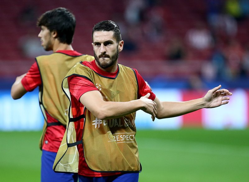 El Atlético ya calienta. (FOTO: Club Atlético de Madrid)