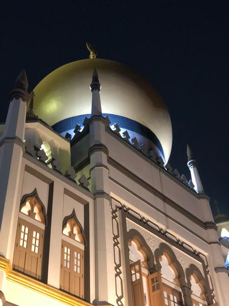 Pit stop #15 - 21.09.19<br>La Moschea del Sultano è tra le più importanti moschee asiatiche e si trova nel cuore del quartiere arabo di Singapore, al centro della zona di Kampong Glam. <br><br> <br><br>