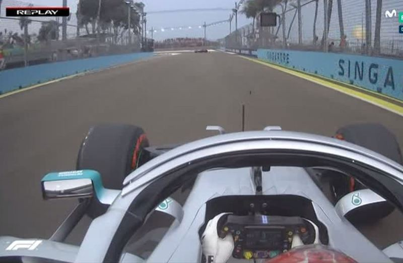 Hamilton se queja de Carlos