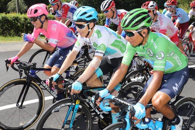 Tres colombianos que son protagonistas en la Vuelta: Higuita, López y Quintana