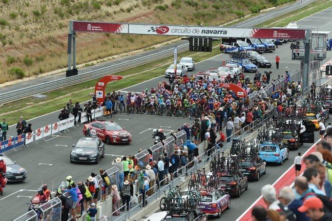 UNA SALIDA diferente hoy en la Vuelta a España 2019