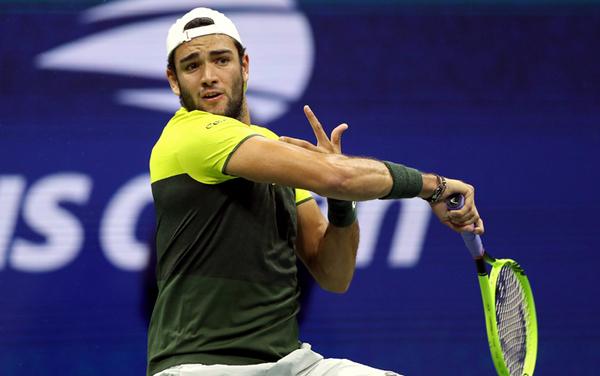 Berrettini in azione contro Nadal (Getty)