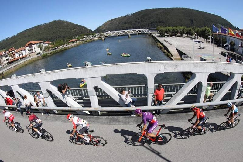 Los 6 escapados del día en la Vuelta a España