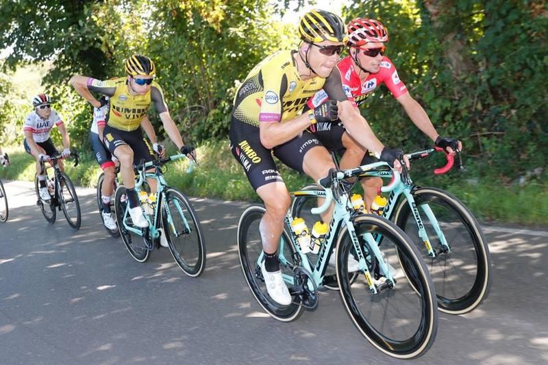 PRIMOZ ROGLIC (Jumbo Visma) tiene hoy un día tranquilo como líder de la Vuelta a España
