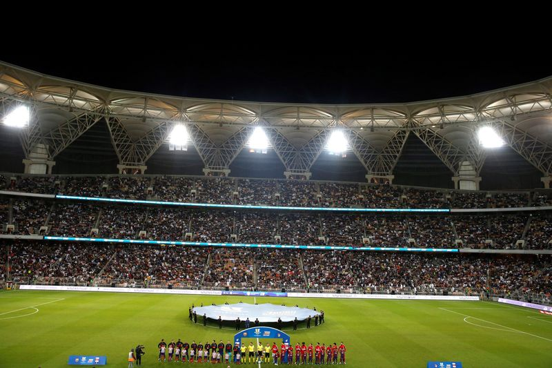 El King Abdullah Stadium, escenario de la final