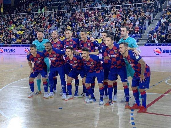 El Barça, hoy en el Palau FOTO: FCB