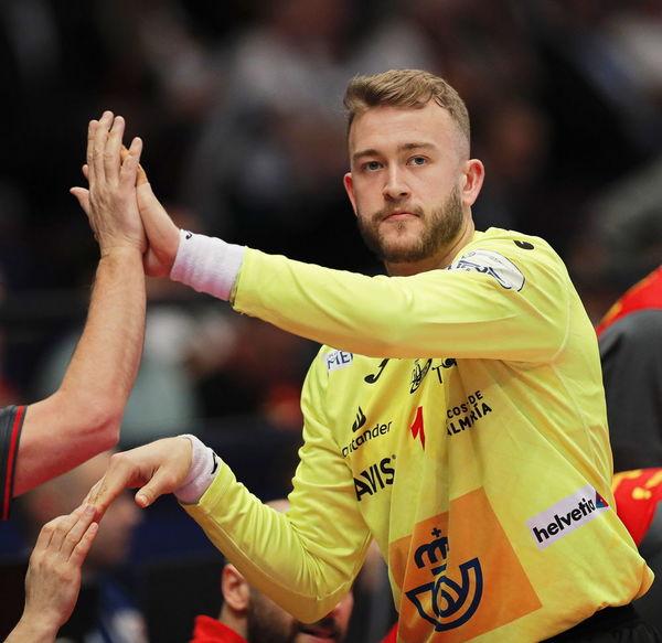 Gonzalo, portero de la selección española