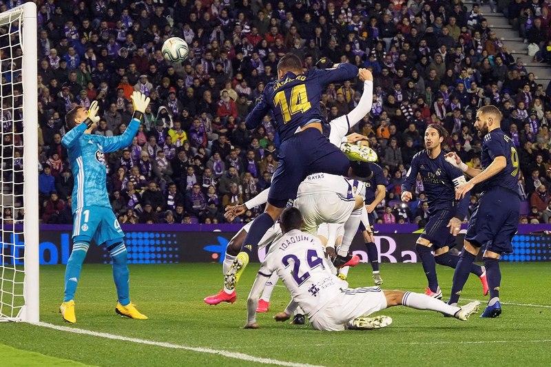 Imagen del Real Valladolid - Real Madrid