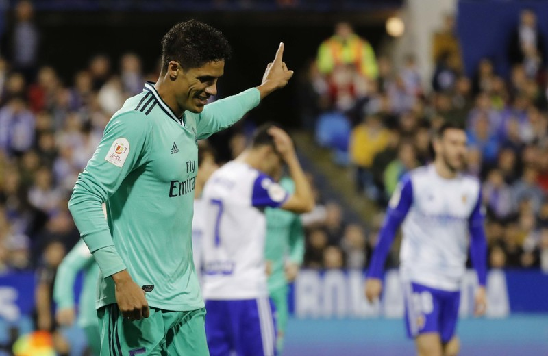 Imagen del Real Zaragoza - Real Madrid