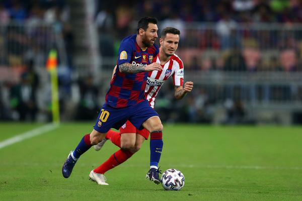 Leo Messi en acción