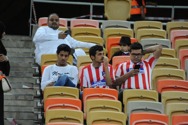 También hay aficionados del Atlético FOTO: JOAN LANUZA