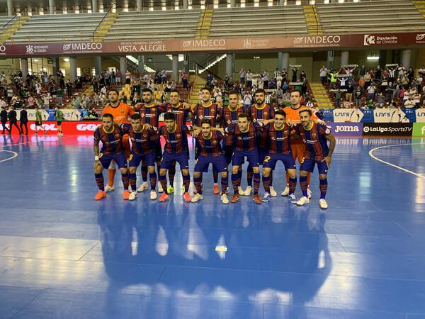 El Barça. en Córdoba FOTO: FCB