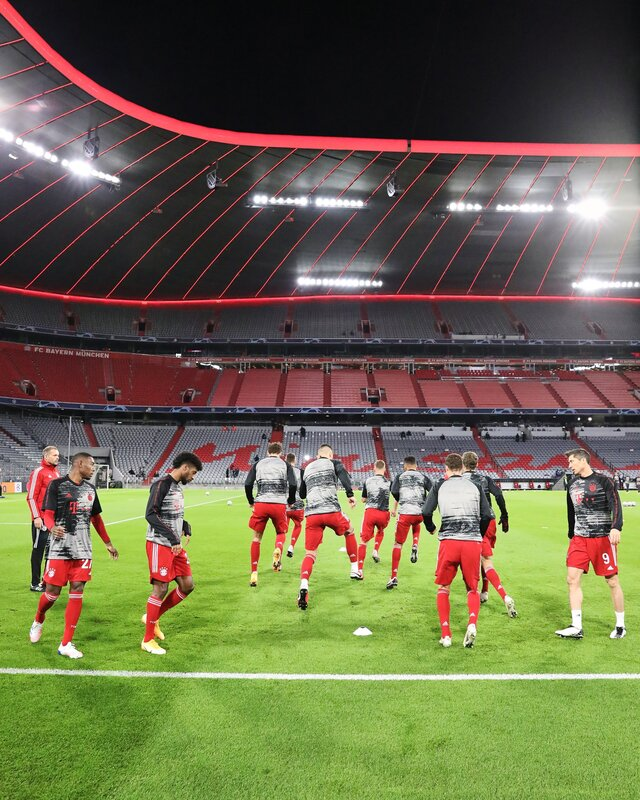Calienta el Bayern de Múnich.