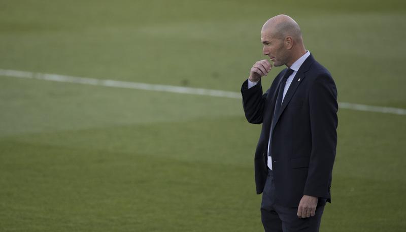 Zidane, en el duelo ante el Cádiz