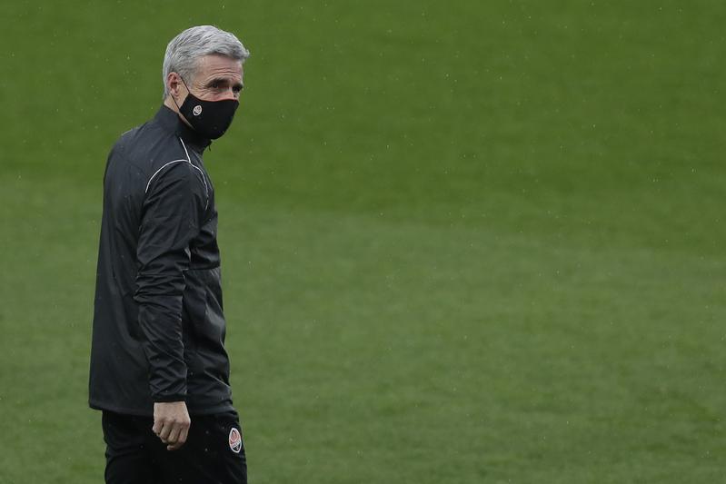 Luis Castro, entrenador del Shahktar Donetsk