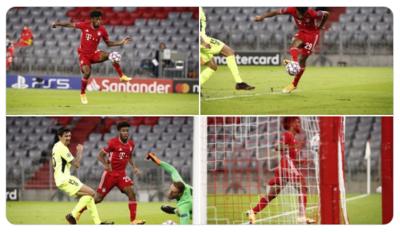 El gol de Coman (FOTO: Bayern)